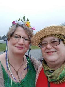 Raven and Ash, Beltane 2018